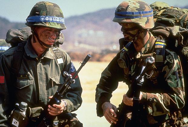 Совместные учения США и Южной Кореи, 1989 год