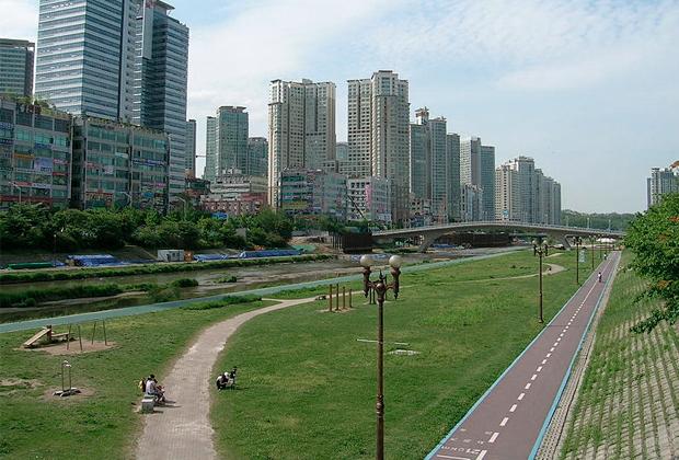 Город-спутник Сеула Соннам