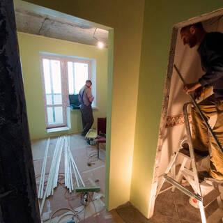 Подсчитаны траты россиян на ремонт в своей квартире