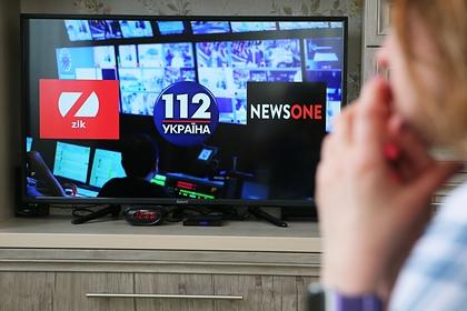 Попавшие под санкции украинские телеканалы заявили о давлении на СМИ
