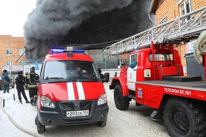При пожаре в Новой Москве погибли трое детей