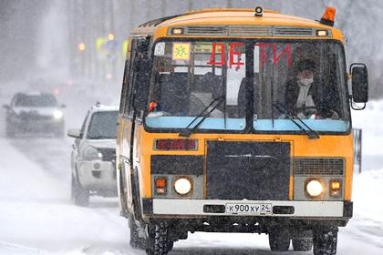 В России пожаловались на небезопасные автобусы для перевозки детей