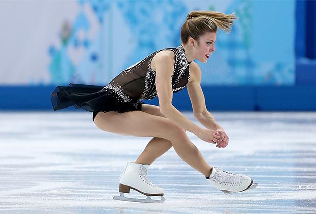 Эшли Вагнер на Олимпиаде в Сочи