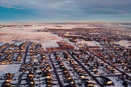 Женщина пошла домой от живущих неподалеку соседей и замерзла насмерть