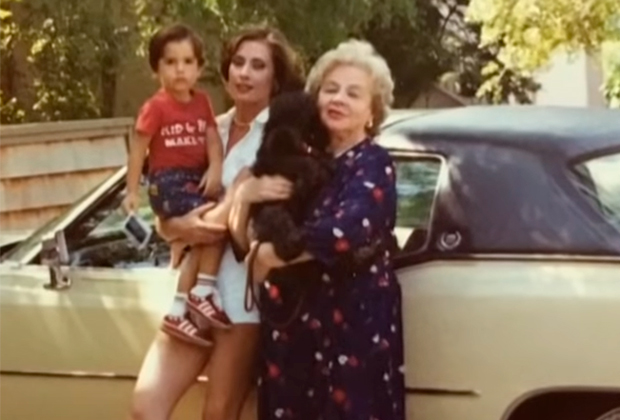 Зоя Федорова с дочерью и внуком в США
