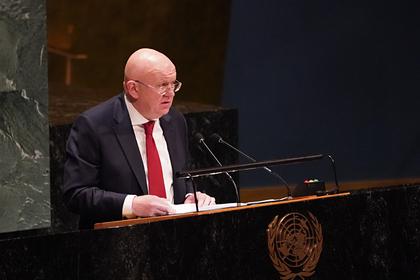 Небензя обвинил Украину в невыполнении Минских соглашений