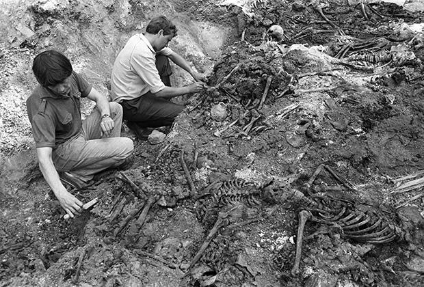 Эксгумация жертв массовых репрессий в Челябинской области, 1989 год