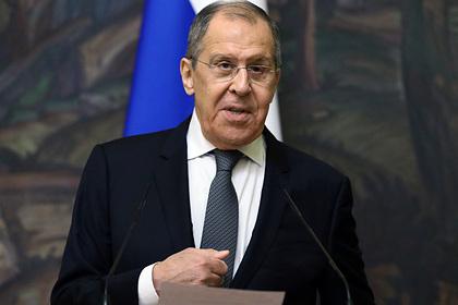 Лавров обвинил Брюссель в разрыве отношений между Россией и ЕС