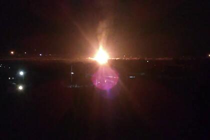 В Луганске произошел взрыв на газораспределительном узле