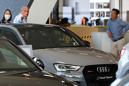 Продажи машин вЕвропе рухнули