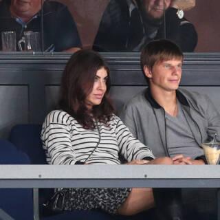 Алиса Казьмина и Андрей Аршавин в 2013 г.