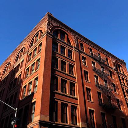 Четырехзвездочный отель The Standard High Line в Нью-Йорке