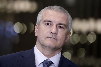 Аксенов отреагировал на планы Киева отрезать дамбой Крым от воды
