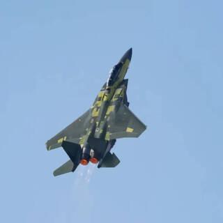 Первый полет F-15EX Advanced Eagle