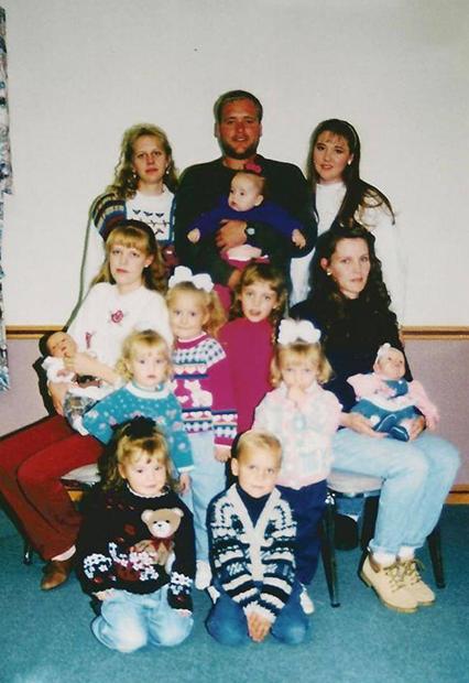 Семейная фотография 1998 года