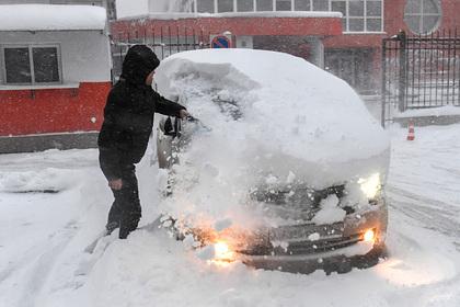 Власти обратились к жителям Крыма в связи с мощными снегопадами