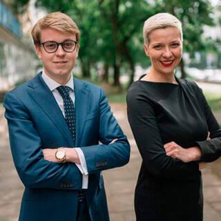 Илья Салей и Мария Колесникова (архивное фото)