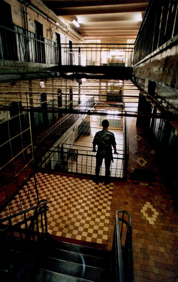 Внутренние коридоры Бутырского СИЗО
