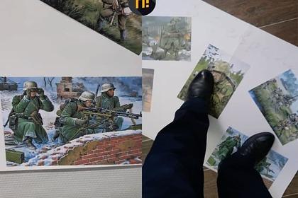 Стенгазету в одном из российских сел «украсили» изображением солдат вермахта: Общество: Россия: Lenta.ru
