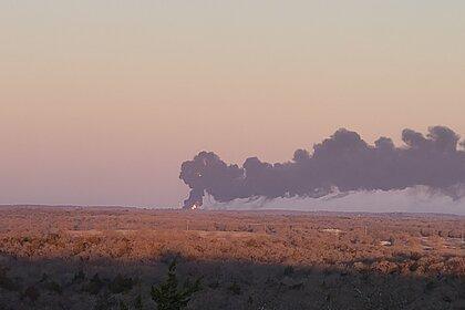 Опубликовано видео мощного взрыва в Техасе