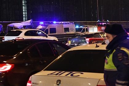 На российской трассе столкнулись 39 автомобилей