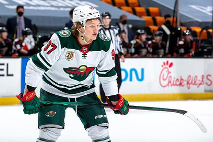 Российский хоккеист Капризов установил очередной рекорд клуба НХЛ