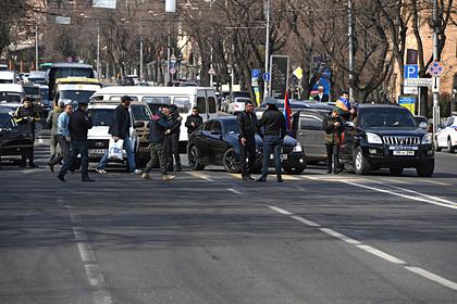 МИД России прокомментировал события в Армении