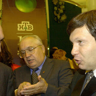 Владимир Соловьев (справа) в 2003-м