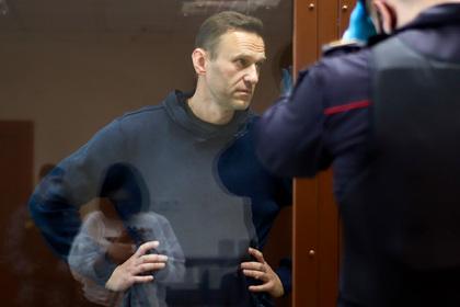Навального этапировали из Москвы