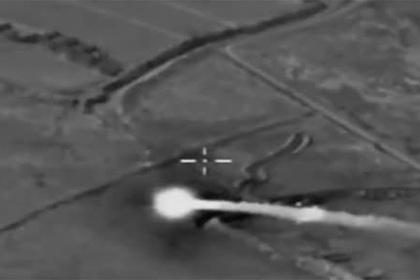 Опубликованы кадры применения «Искандер-М» в Сирии