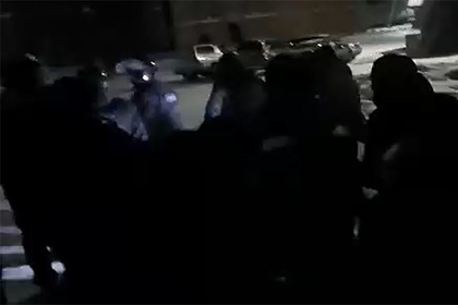 Появилось видео штурма ОМОНом монастыря опального схиигумена Сергия