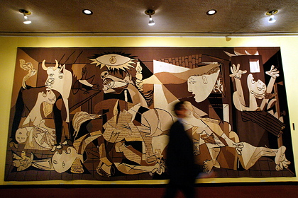 Рокфеллер забрал гобелен с картиной Пикассо из ООН