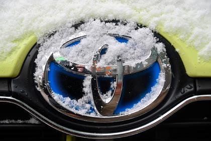 У проданных в России Toyota нашли проблемы с тормозами