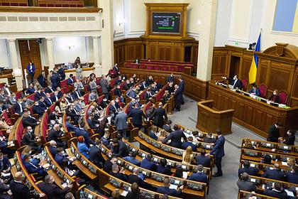 Украинская оппозиция выступила за построение парламентской республики