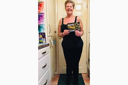 Женщина похудела на 50 килограммов после унижения в самолете