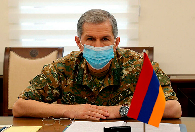 Глава Генштаба Армении Оник Гаспарян