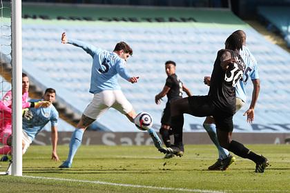 «Манчестер Сити» выиграл 14-й матч подряд в АПЛ