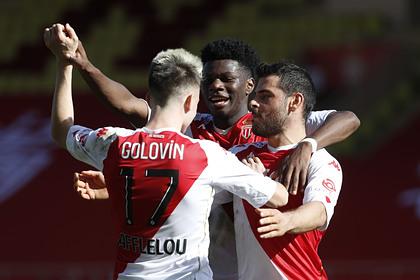 Две голевые передачи Головина помогли «Монако» выиграть матч чемпионата Франции