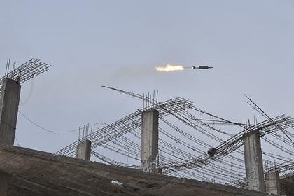 Сирийская армия сообщила о ракетной атаке около Дамаска