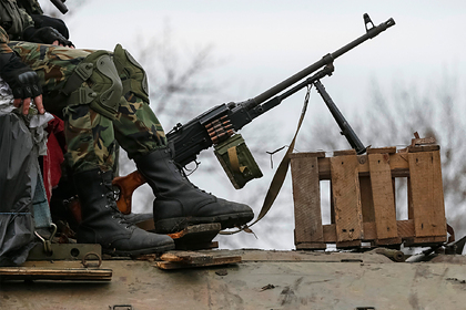 Украина обвинила ополчение в гибели своего военнослужащего