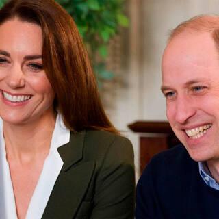 Герцогиня Кембриджская Кэтрин и принц Уильям