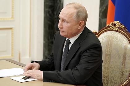 Путин заявил об эффективности российских вакцин против новых штаммов коронавируса