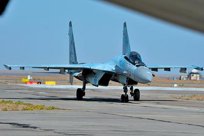 Российский Су-35 назвали самым красивым в мире