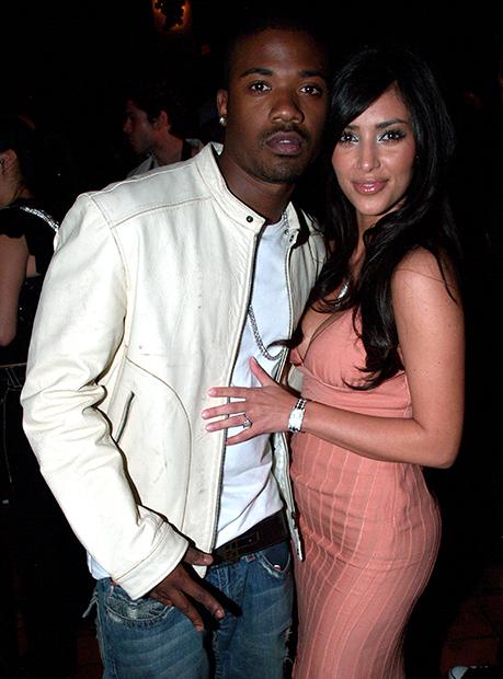 Ким Кардашьян с рэпером Рэем Джеем, 2006 год