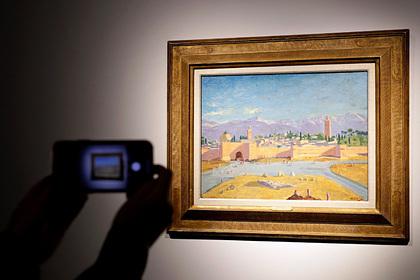 Анджелина Джоли продала картину Уинстона Черчилля за 11,5 миллиона долларов