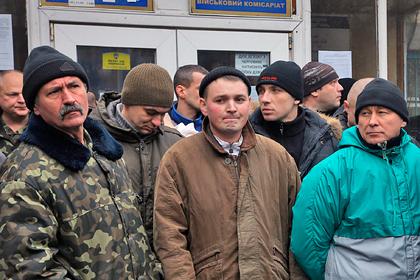 На Украине примут закон о призыве в течение суток в случае войны в Донбассе