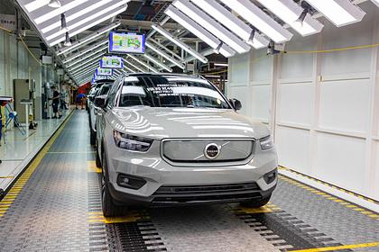 Volvo станет выпускать только электромобили