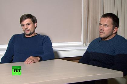 Фигуранты дела Скрипалей попали под санкции из-за Навального