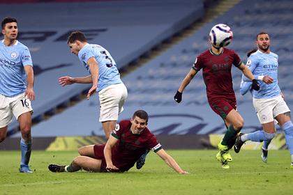 «Манчестер Сити» выиграл 15-й матч подряд в АПЛ