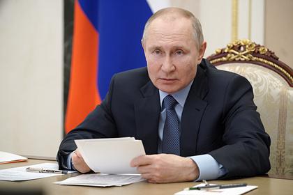 Путин поручил бороться с вовлечением подростков в незаконные протестные акции